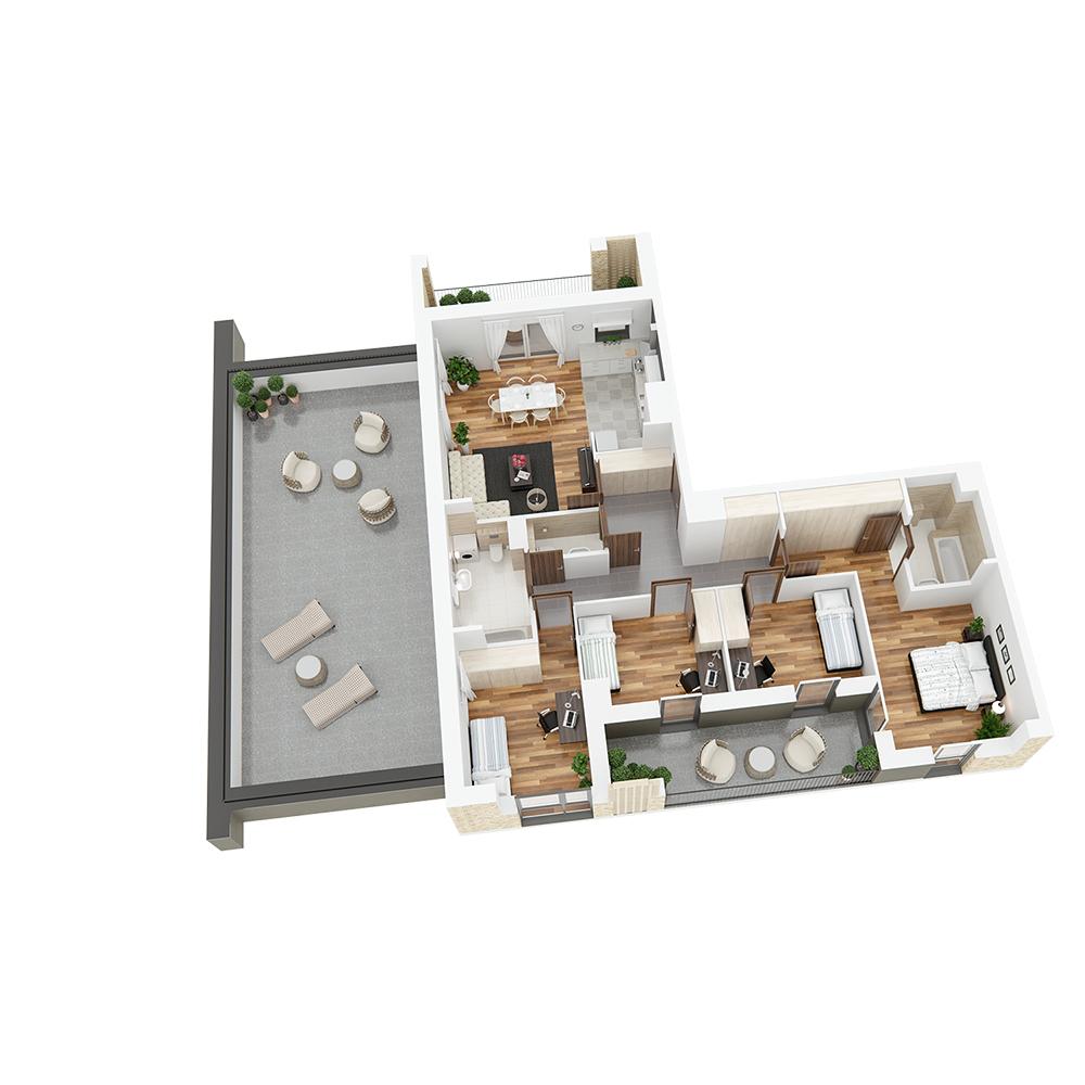 Mieszkanie 5-pokojowe PP-26-20