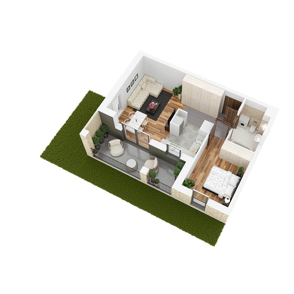 Mieszkanie 2-pokojowe PP-26-78