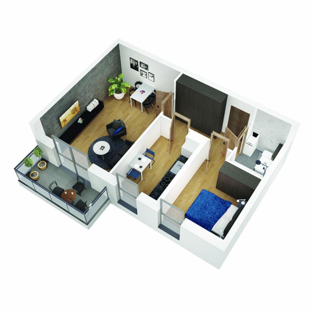 Mieszkanie 2-pokojowe OU-5-15