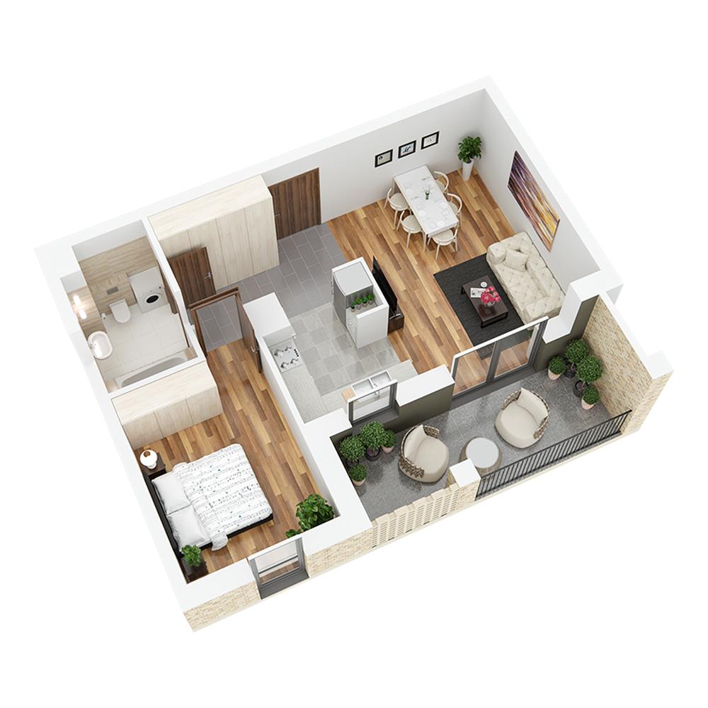 Mieszkanie 2-pokojowe PP-26-43