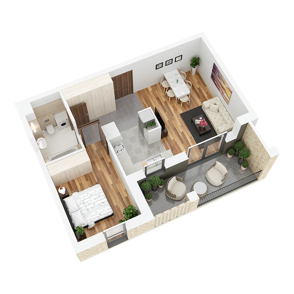 Mieszkanie 2-pokojowe PP-26-31