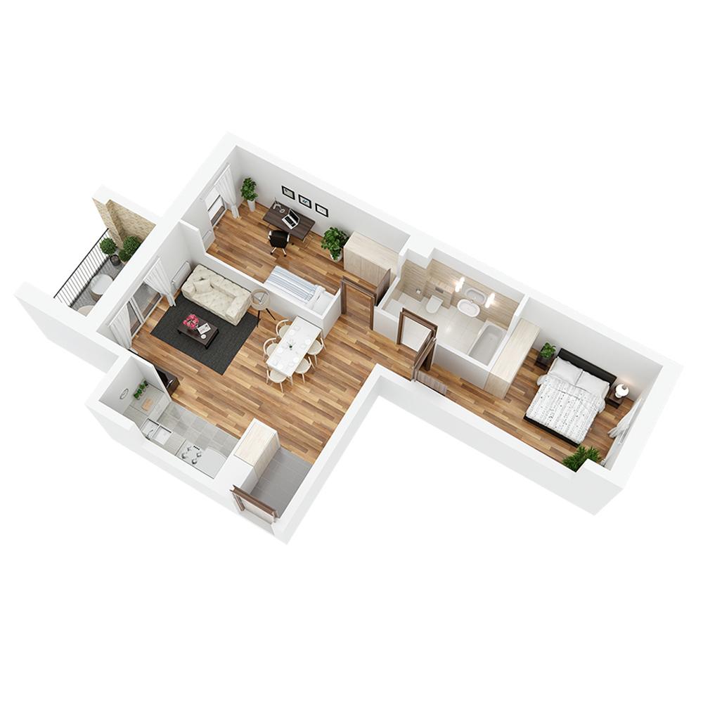 Mieszkanie 3-pokojowe PP-24-37