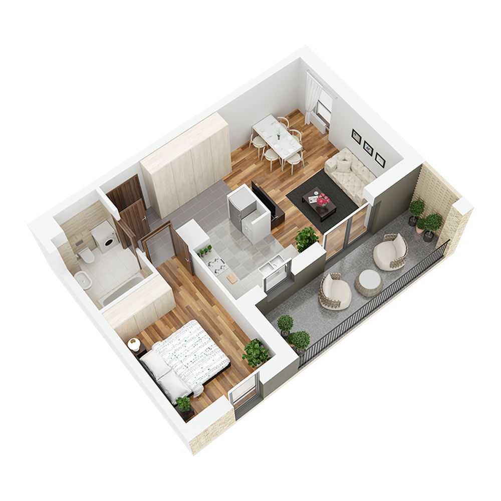Mieszkanie 2-pokojowe PP-24-21